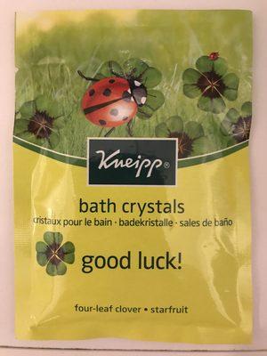 Cristaux pour le bain Good Luck! - Product - fr