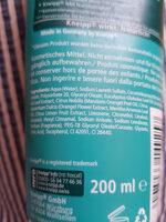 Kneipp Dusch Tonic, Blauer Eukalyptus & Mandarine - Ingredients - de