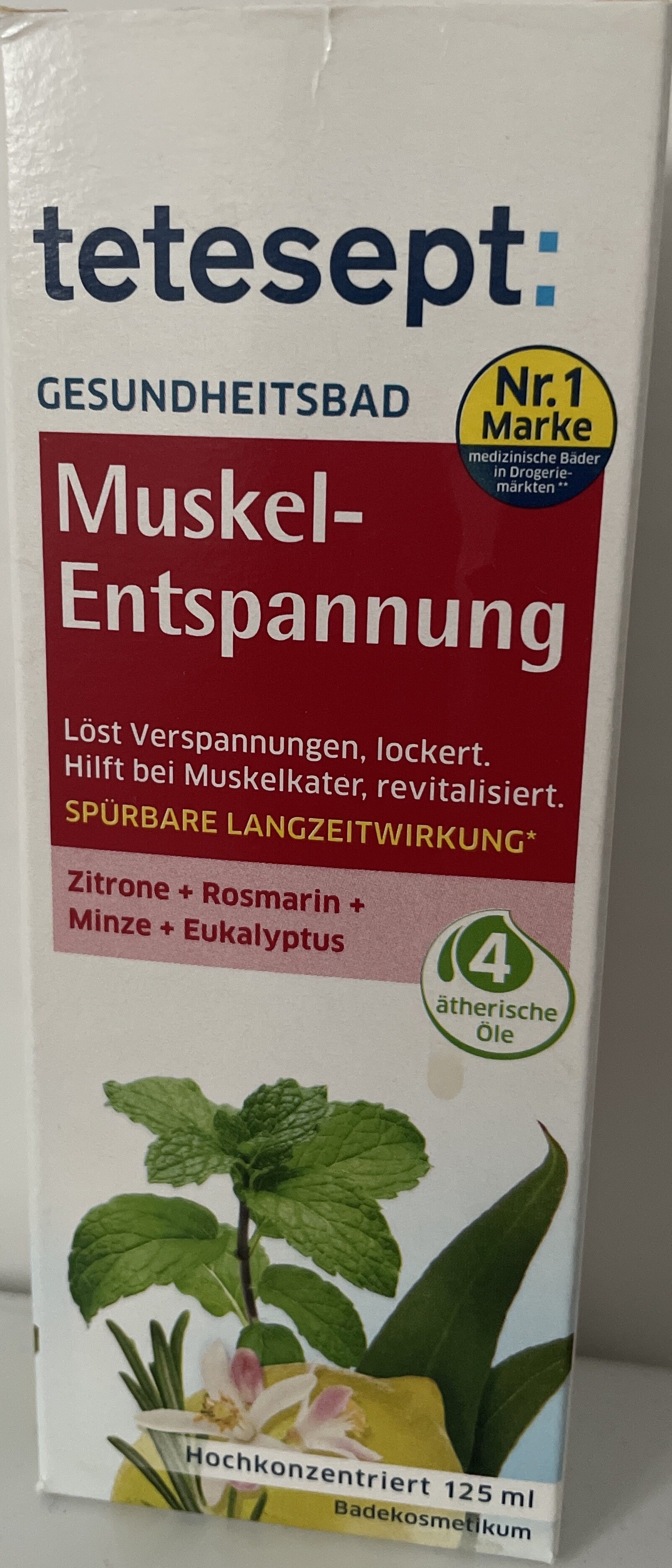 tetesept Muskel-Entspannung - Product - de