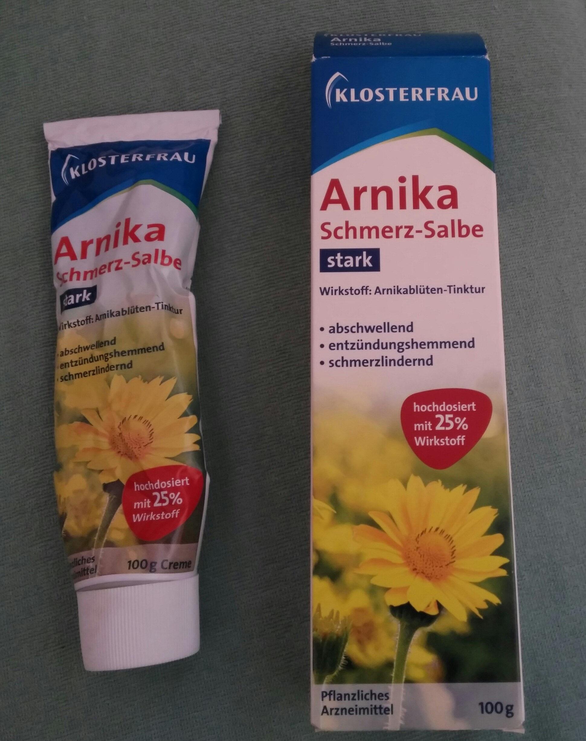 Annika Schmerzsalbe stark Wirkstoff arnikablüten Tinktur Abschwellen entzündungshemmend schmerzlindernd hochdosierten 25% Wirkstoff - Product