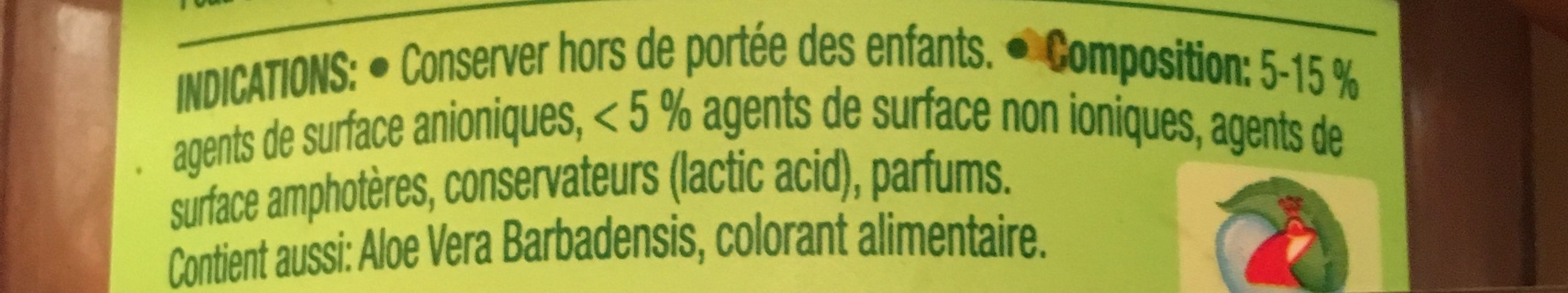 Ecologique - Ingredients - fr