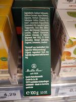Seife - Ingredients - de