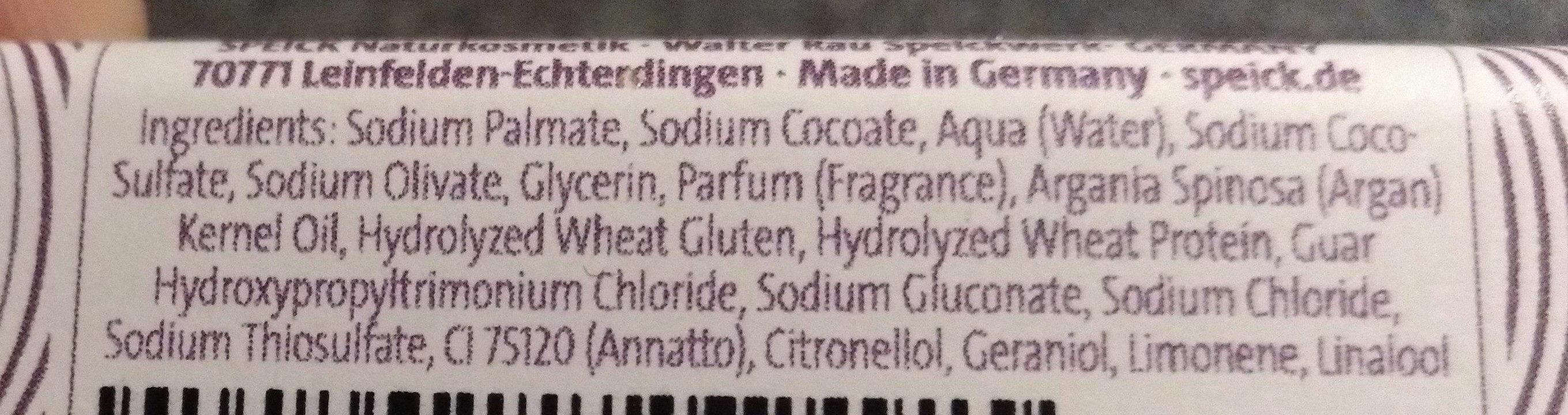 Haar Seife - Ingredients - de