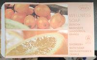 Wellness Soap Dusch+Badeseife Sanddorn & Orange - Produit - de