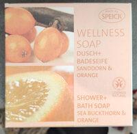 Wellness Soap Dusch+Badeseife Sanddorn & Orange - Product - en