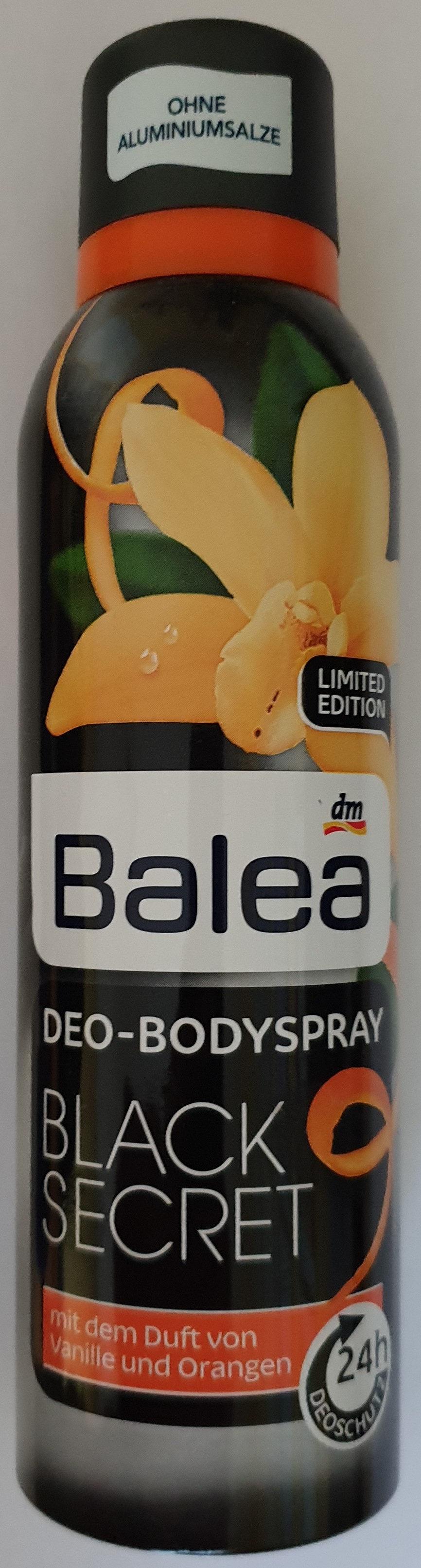 deo-Bodyspray Black Secret - Product - de