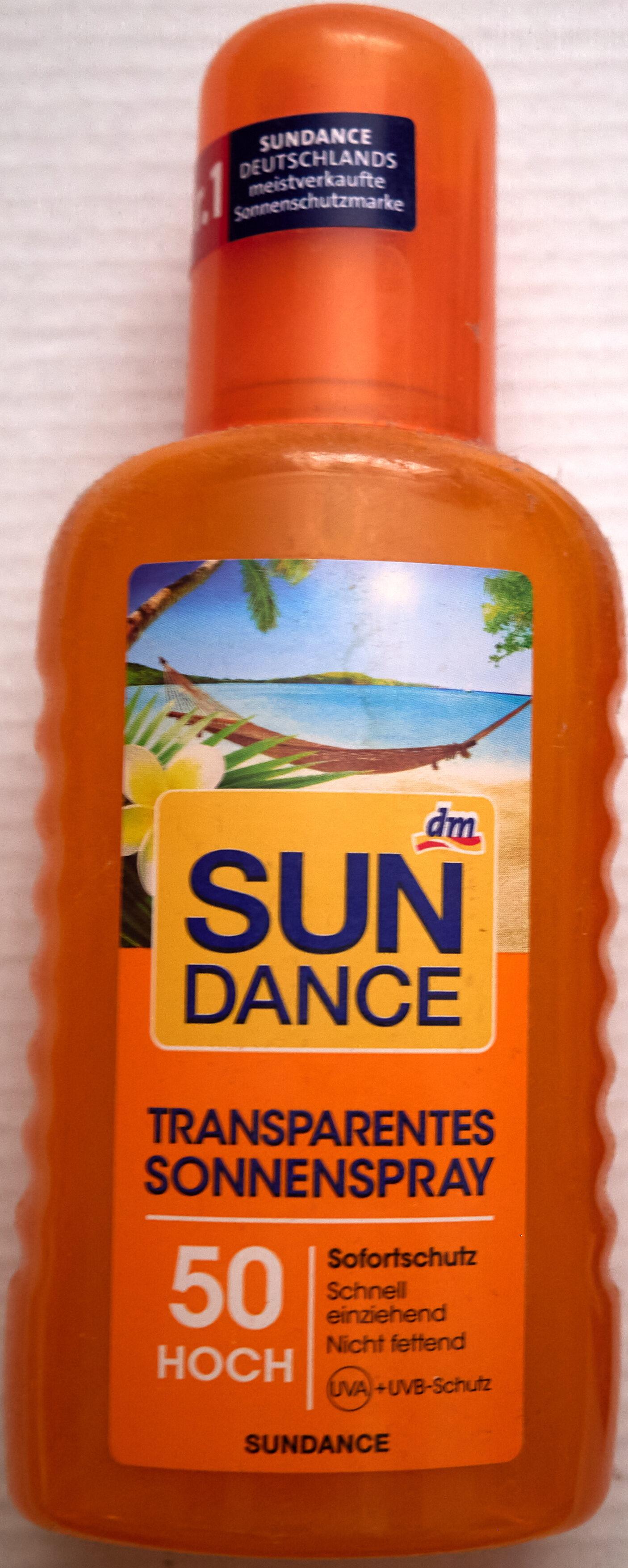 Transparentes Sonnenspray LSF 50 hoch - Продукт - en
