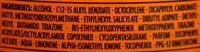 Transparentes Sonnenspray LSF 50 hoch - Ингредиенты - en