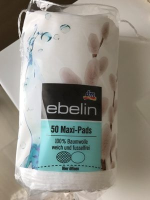 Maxi-Pads, 50 Pads, EBELIN - Product