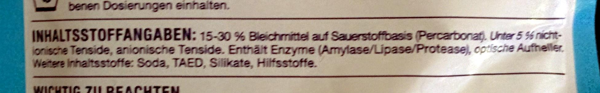Wäsche-Weiss - Ingredients