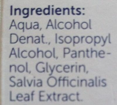 Soforthilfespray - Ingredients - de