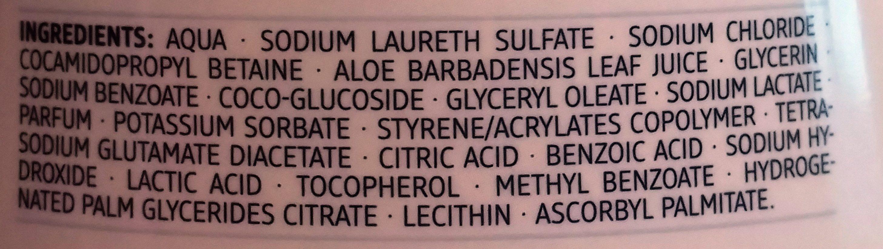 Creme Seife Sensitive - Ingredients - de