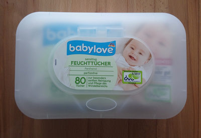 Feuchttücher sensitive + Box - Product