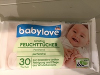 Sensitive Feuttücher - Product - en