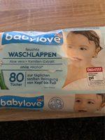 Babylove Feuchte Waschlappen - Produit - fr