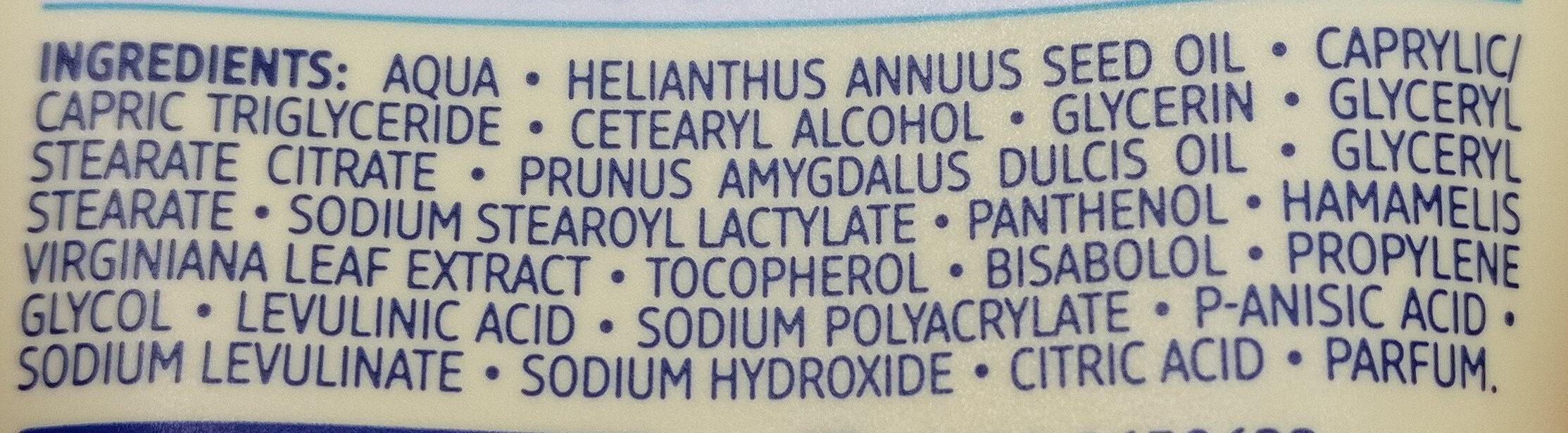 leichte Gesichtscreme - Ingredients