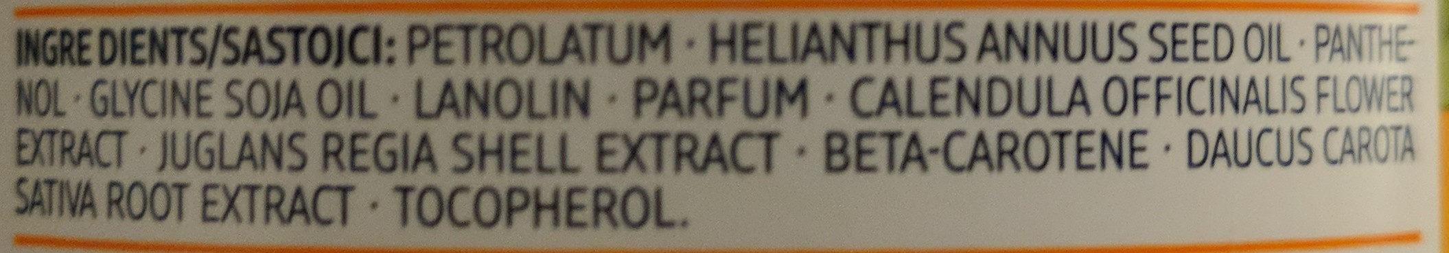 Melkfett Ringelblume - Ingredients - de