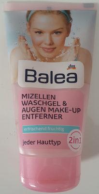 Mizellen Waschgel & Augen Make-Up Entferner - Product