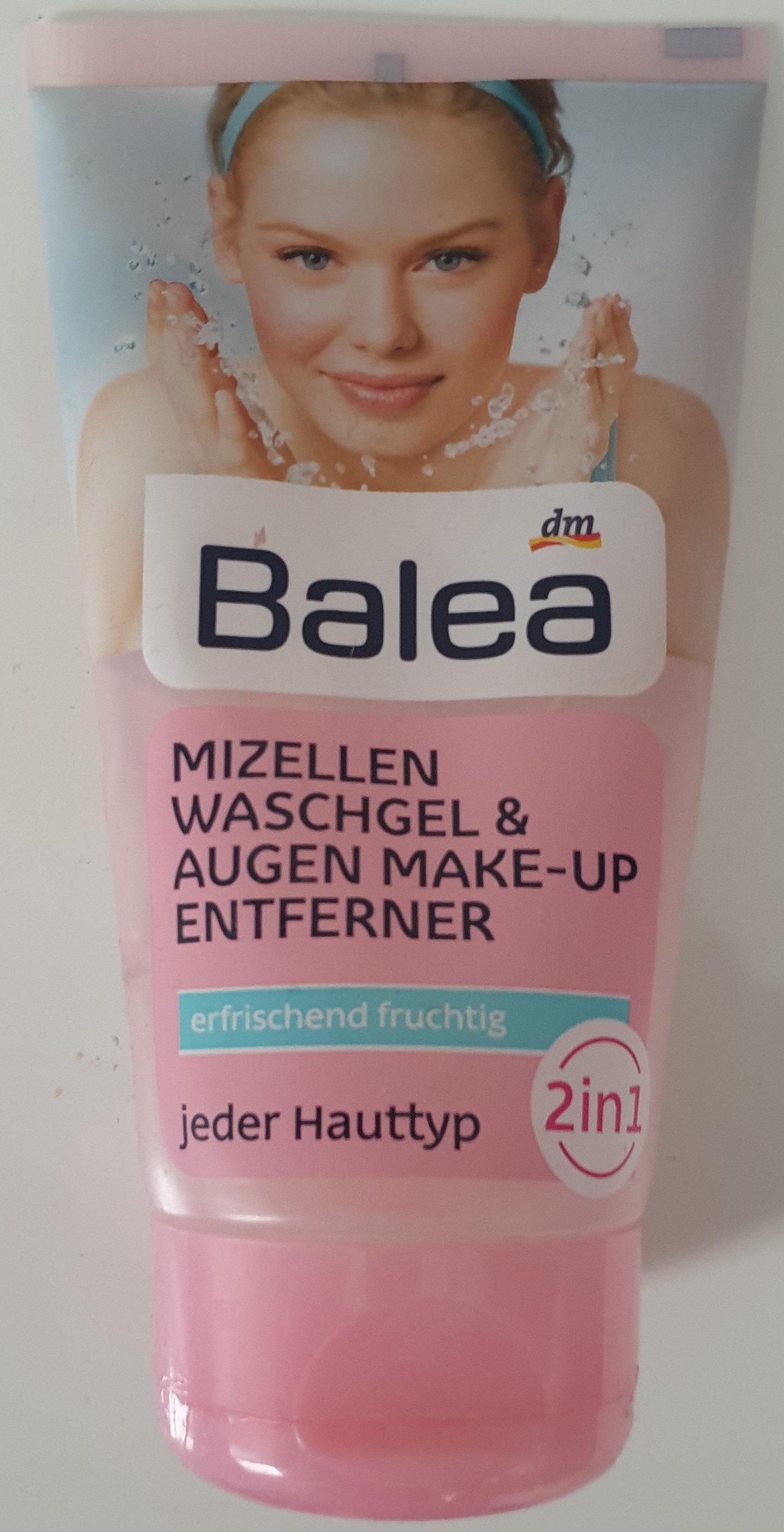 Mizellen Waschgel & Augen Make-Up Entferner - Product - de