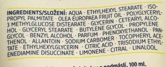 Handcreme Buttermilk & Lemon - Ingredients - de