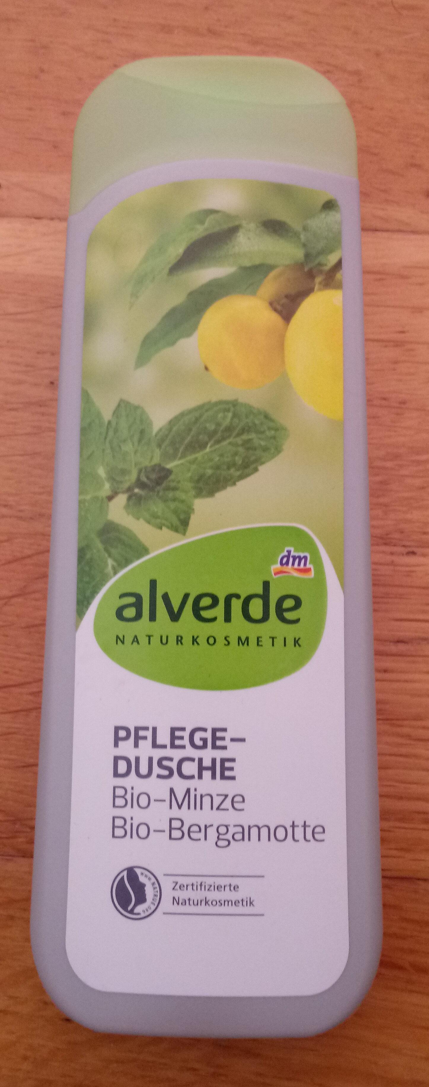 Pflegedusche Bio-Minze Bio-Bergamotte - Product