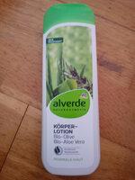 Körper-Lotion Bio-Olive Bio-Aloe Vera - Product