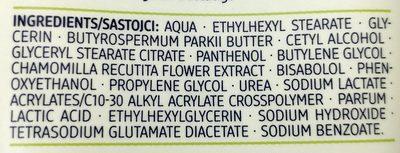 Hand & Nagel Balsam Kamille - Ingredients