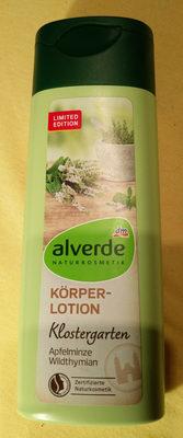 alverde Körperlotion Klostergarten - Product - de