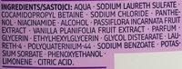 Volumen Shampoo Maracuja & Orchidee - Ingredients