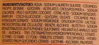 Dusche & Ölperlen - Ingredients