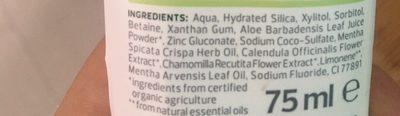 5in1 zahn-creme - Ingredients