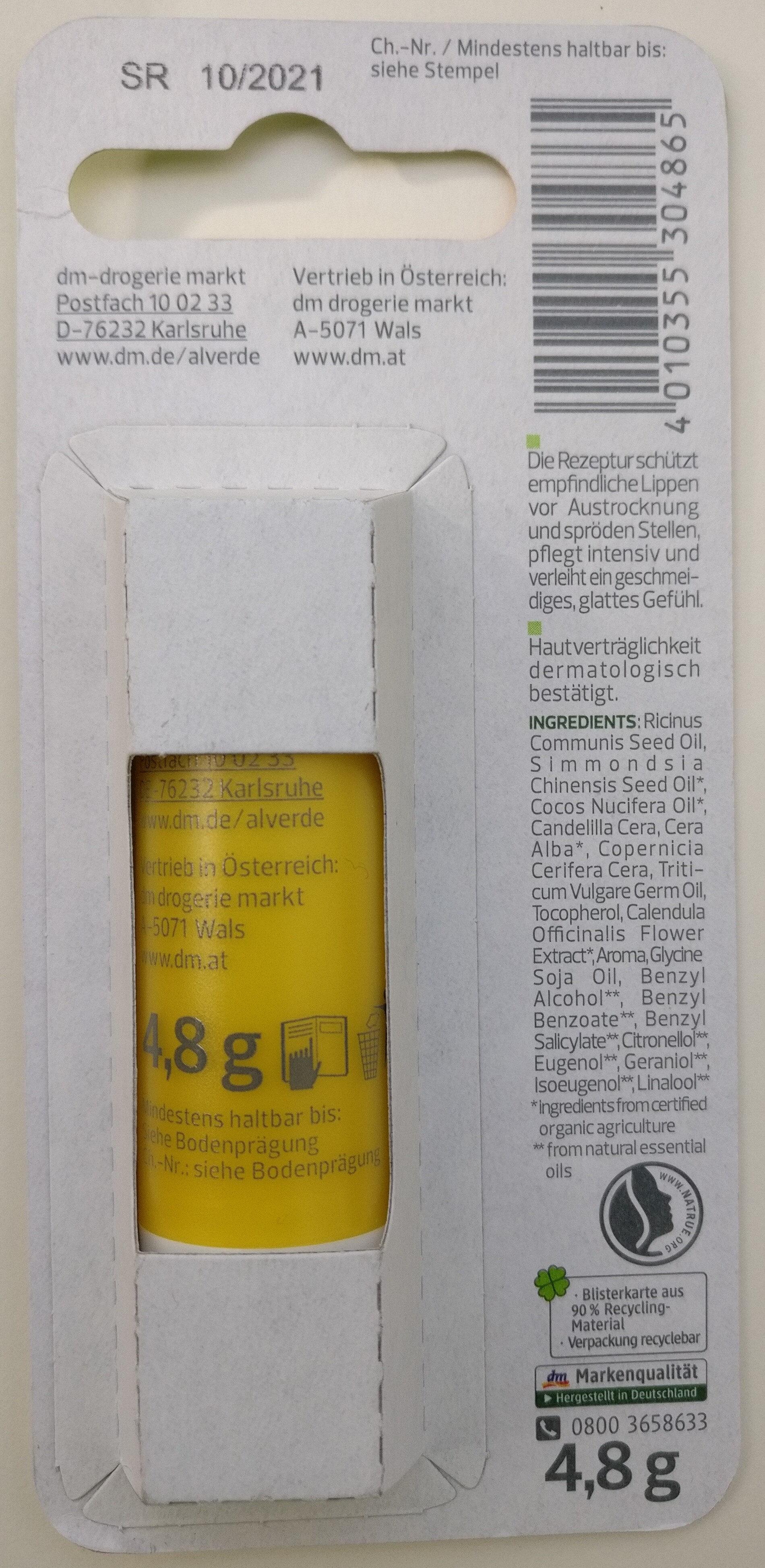 Lippenpflege Bio-Calendula - Product - en