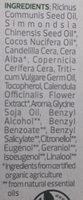 Lippenpflege Bio-Calendula - Ingrédients - de