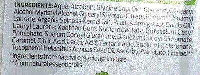 Nutri-Care Spülung Bio-Mandel Bio-Argan - Ingredients - de