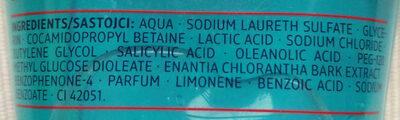 Clear & Care Waschgel (3 in 1, für unreine Haut) - Ingredients - de