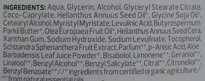 Après-Lotion Bio-Aloe Vera - Ingredients - de