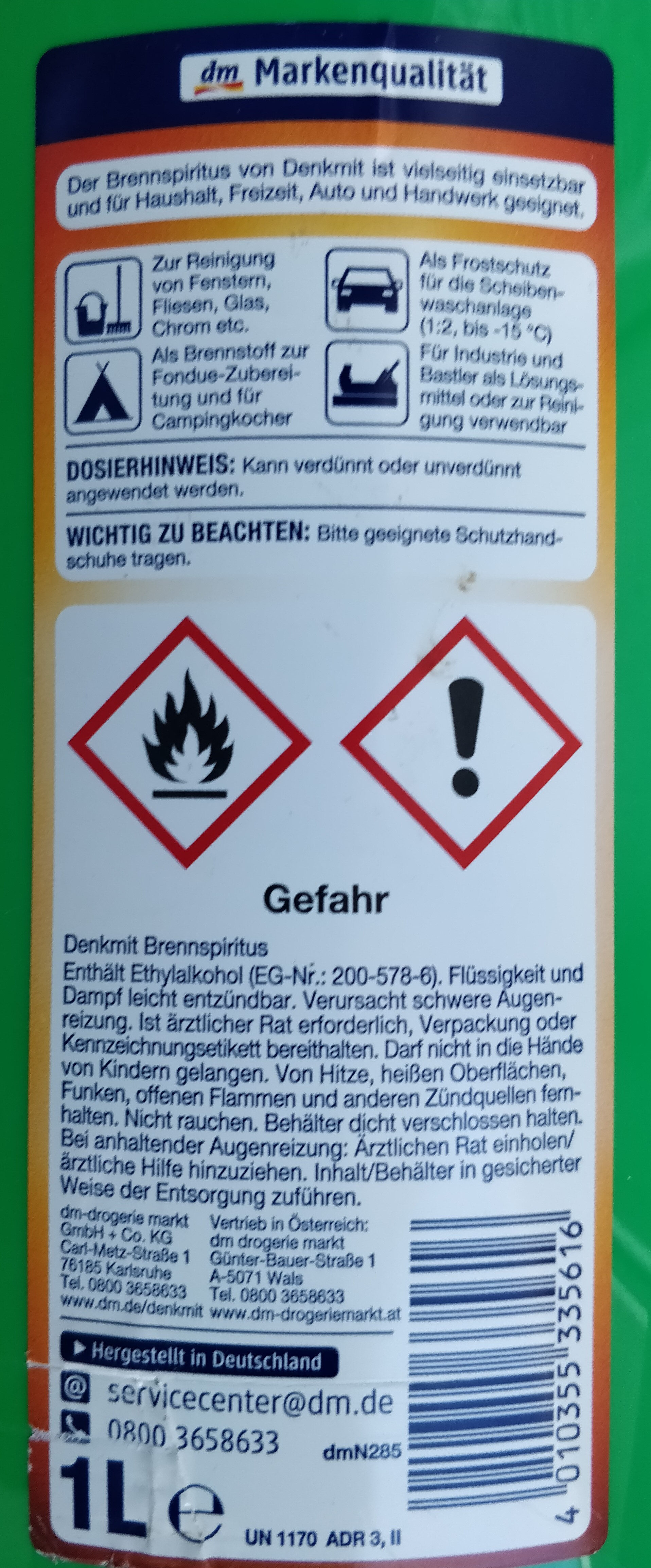 Brennspiritus - Product - en