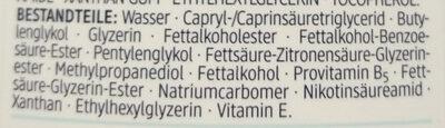 Ultra Sensitive Reinigungsmilch (2 in 1, für Gesicht und Augen) - Ingredients - de