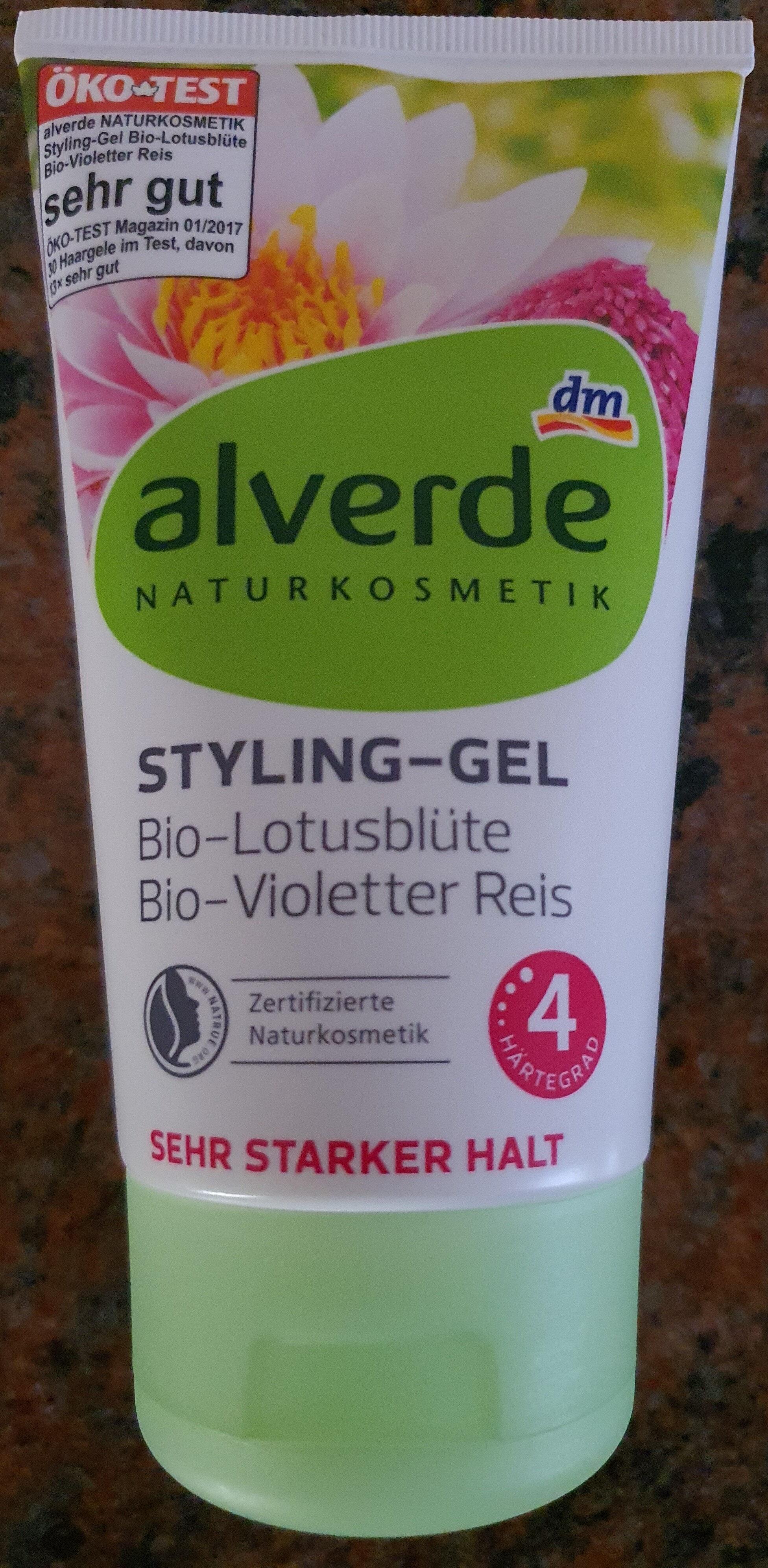 Styling-Gel Bio-Lotusblüte Bio-Violetter Reis - Product - de