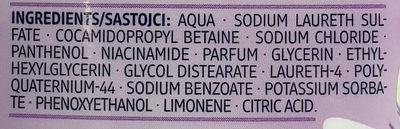 Shampoo Volumen mit Maracuja-Duft - Ingredients