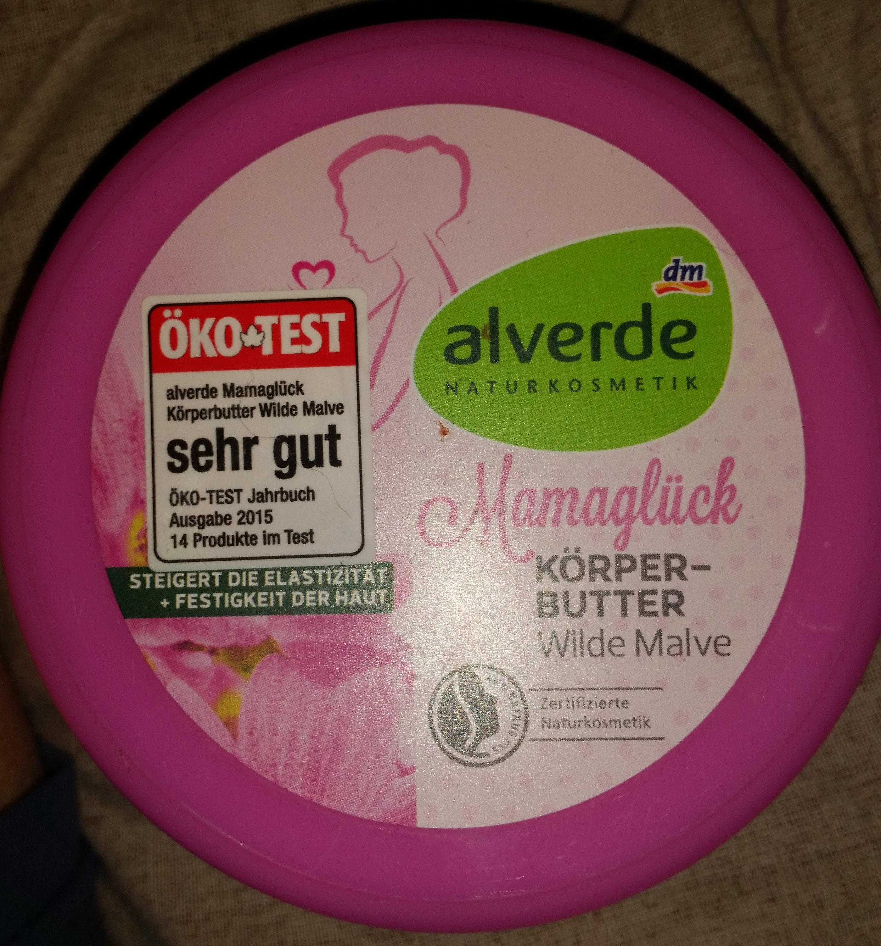 Mamaglück Körperbutter Wilde Malve - Product