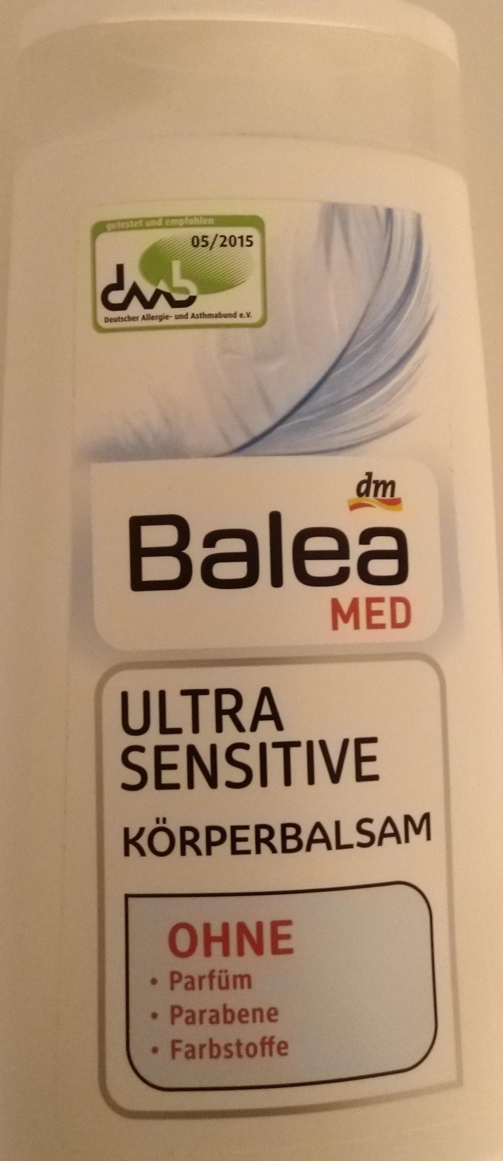 Ultra Sensitive Körperbalsam - Product