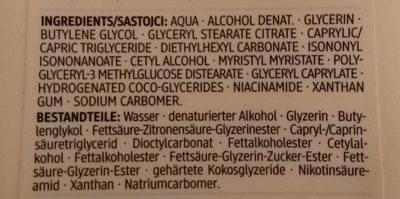 Ultra Sensitive Körperbalsam - Ingredients - de