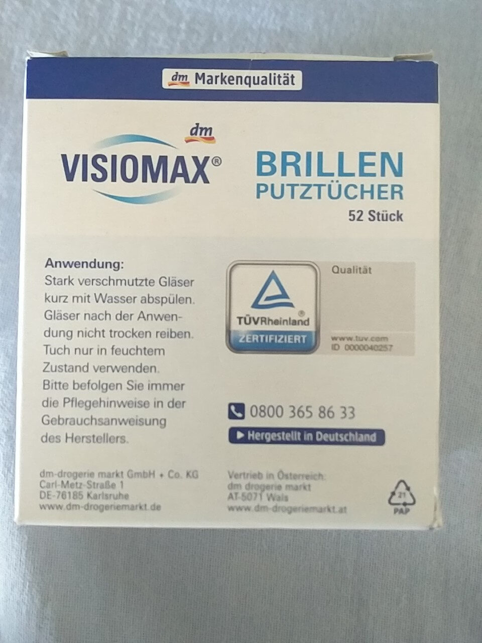 Brillenputztücher - Product - en