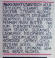 Handcreme Urea - Ingredients - de