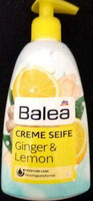 Creme Seife Ginger & Lemon - Product