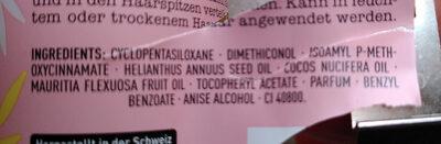 Langhaar Mädchen Haaröl Intense Repair - Ingredients - de
