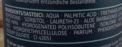Fresh Rasiergel - Ingredients