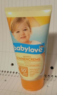 sensitive Sonnencreme - Product - de