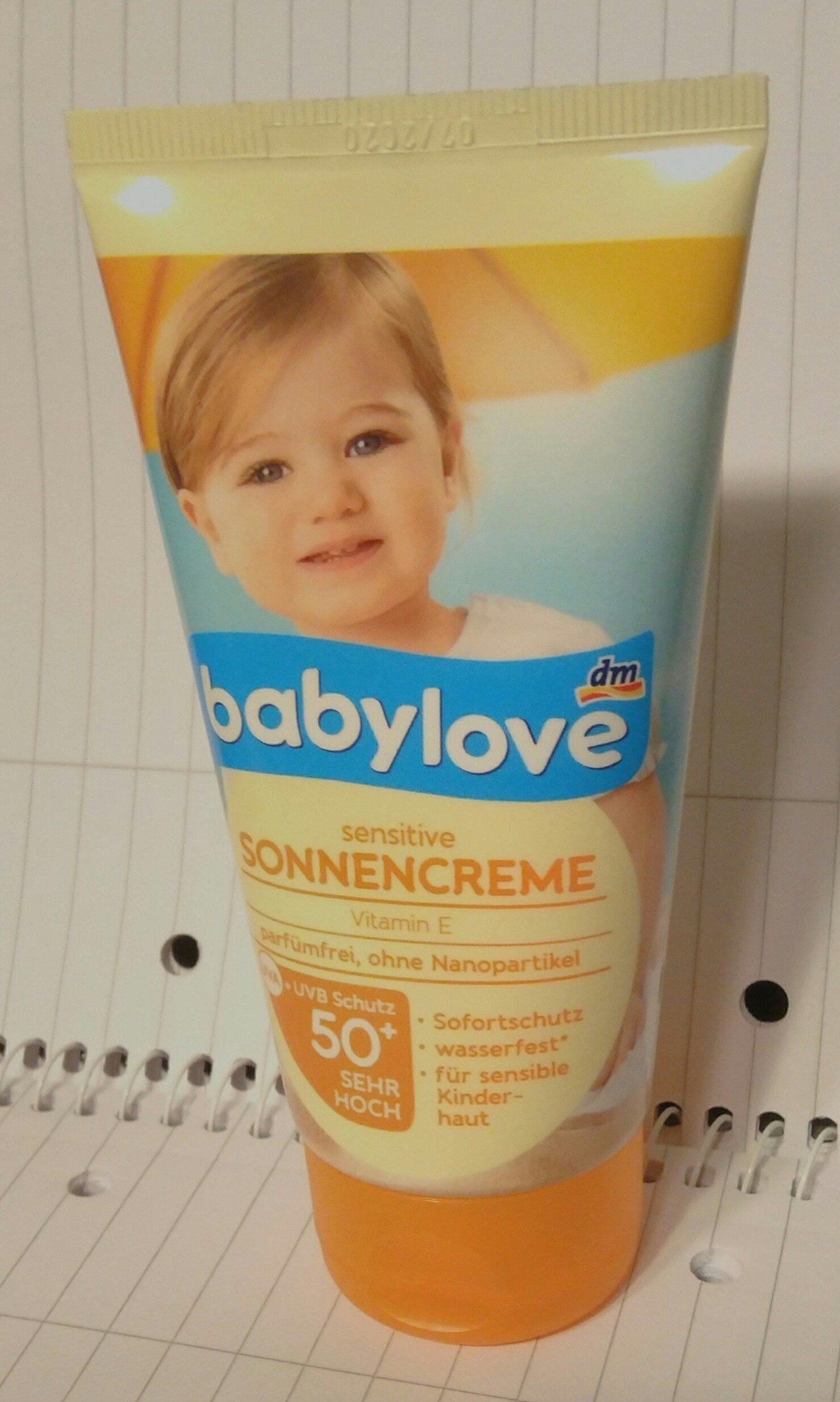 sensitive Sonnencreme - Product